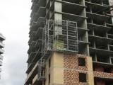 Навесные площадки для строительства дома по улице Немировича-Данченко 167/2